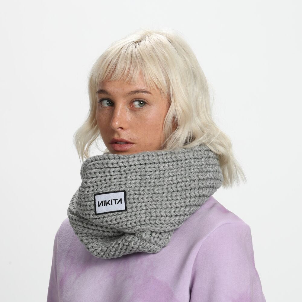 Nikita Womens Scramble Scarf Grey