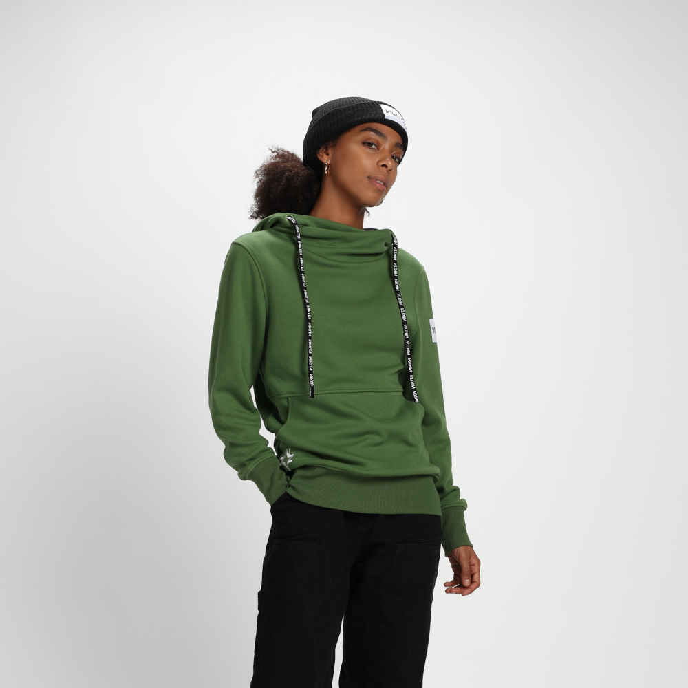 Nikita Womens Nord Pullover Hoodie Dill - Latitude