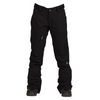 Nikita Womens Black Snowboard Pants Stretch White Pine - Latitude