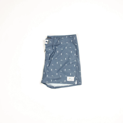 Passenger Clothing Womens Winnipeg Board Shorts Dark Denim - Latitude