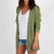 Passenger Clothing Womens San Josef Knitted Cardigan Lilypad Green