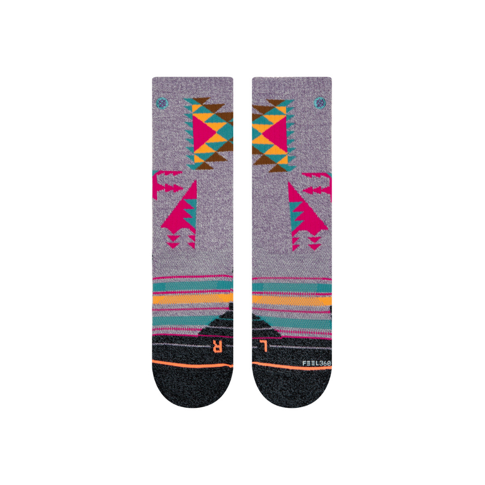 Stance Flourite Hike Sock Form