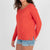 Passenger Clothing Womens Tribune Knitted Sweater Tigerlily - Latitude