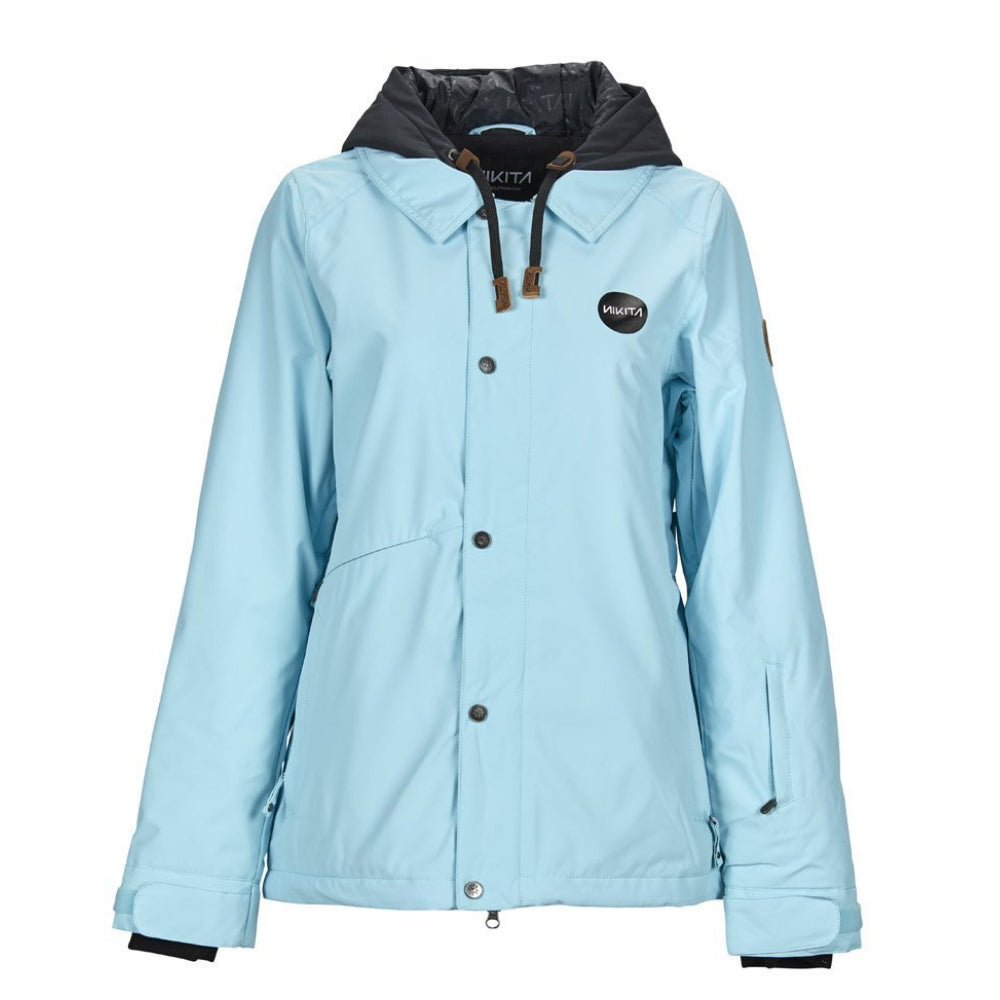 Nikita Womens Laurel Snowboard Jacket Caribean - Latitude