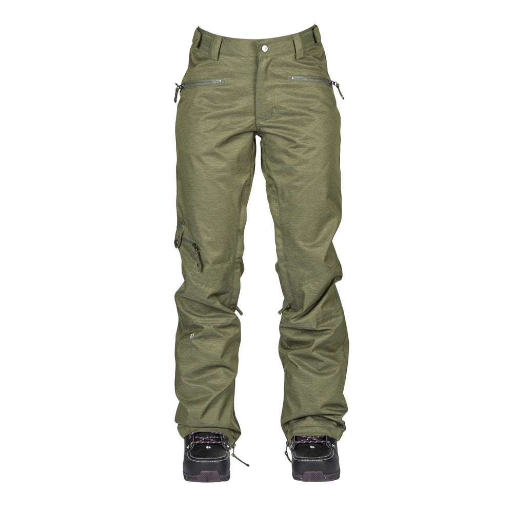 Nikita Womens Snowboard Pants White Pine Fatigue - Latitude