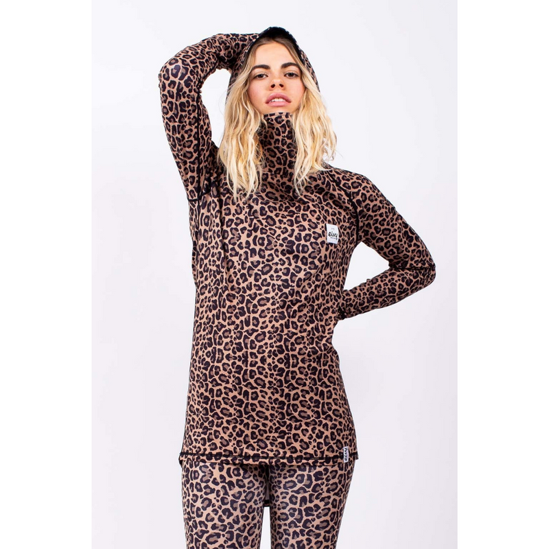 Eivy Womens Base Layer Leggings Leopard Icecold - Latitude
