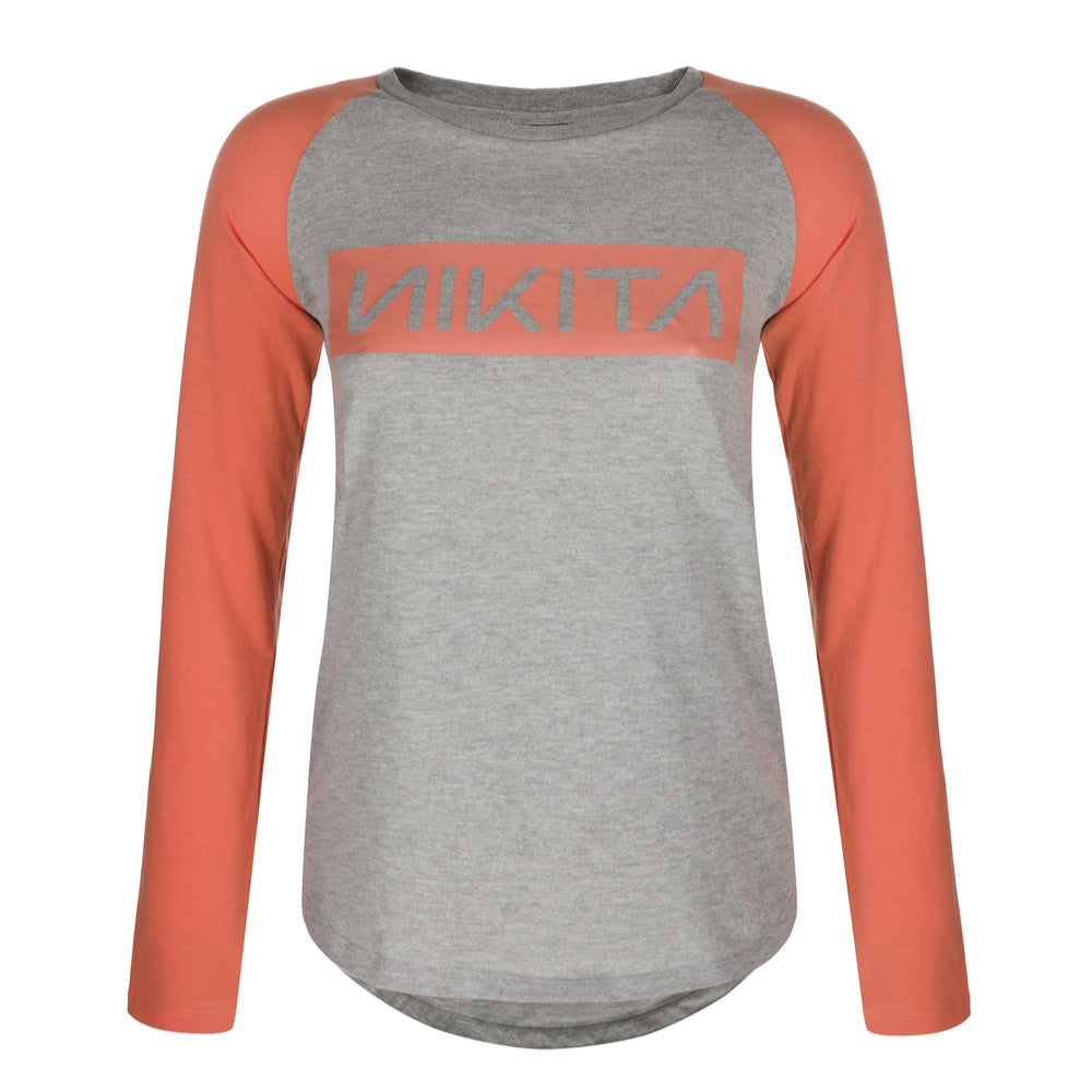 Nikita Womens Wild Long Sleeved T-shirt Coral - Latitude