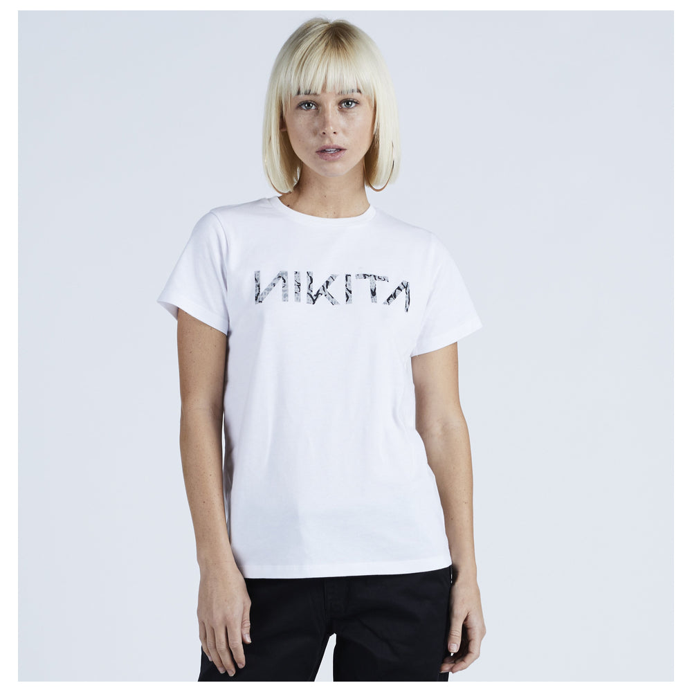 Nikita Womens CD Short Sleeved T-shirt White - Latitude