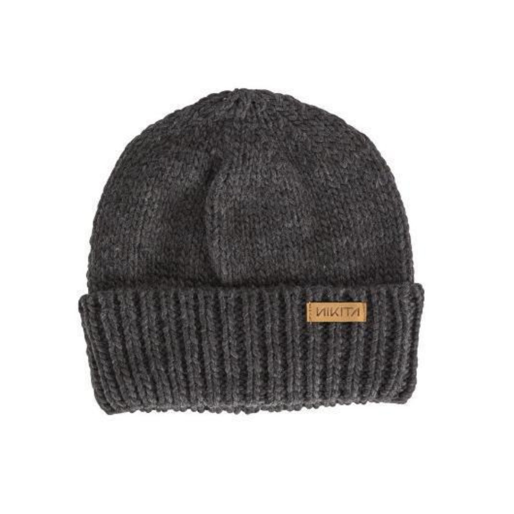 Nikita Womens Muffled Beanie Black - Latitude