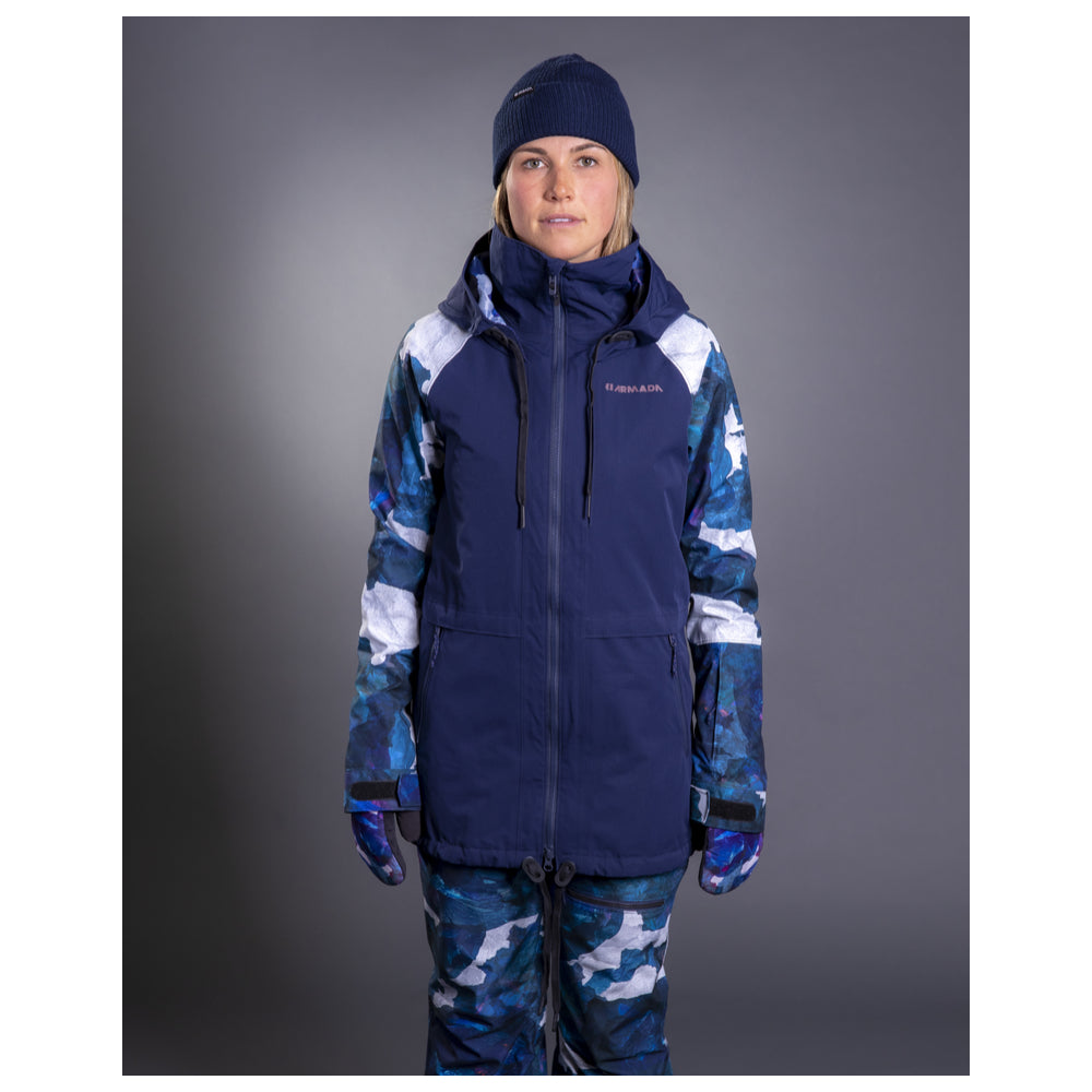 Armada Womens Gypsum Jacket Navy - Latitude