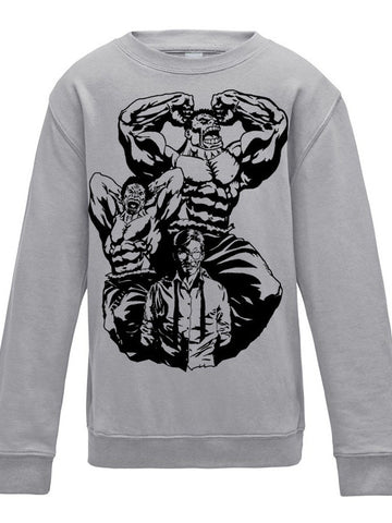 MAN MONSTER Premium Sweatshirt