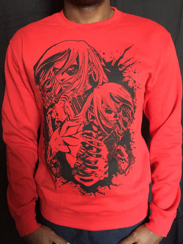 FEMALE TITAN Premium Sweatshirt
