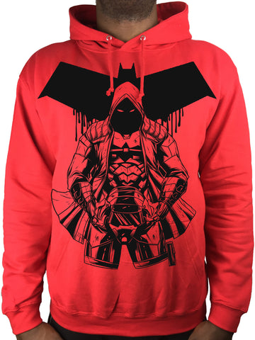 BLEEDING HOOD Hoodie - over-pocket print