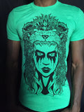Lion goddess heather irish green