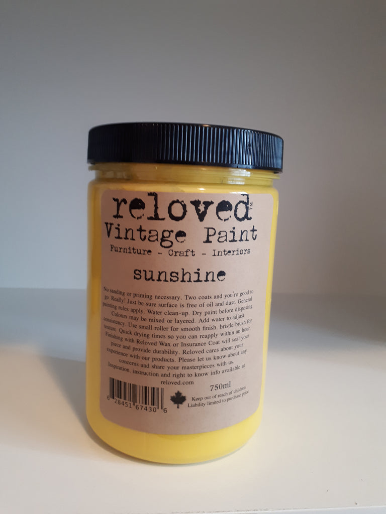 Sunshine 750 ml Paint Tub