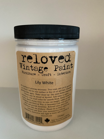 Reloved Vintage Paint Lily White 750ml