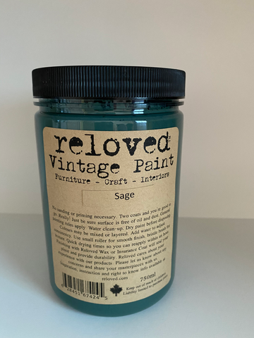Reloved Vintage Paint Sage 750ml