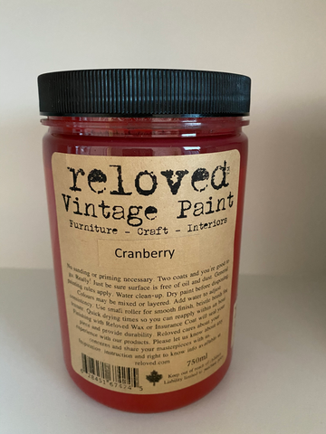 Reloved Vintage Paint Cranberry 750ml