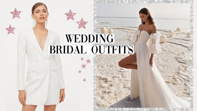 Bridal Outfits For An Intimate Wedding Ceremony