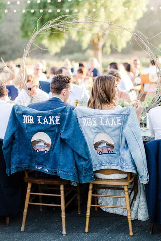 Wife And husband Denim Jacket