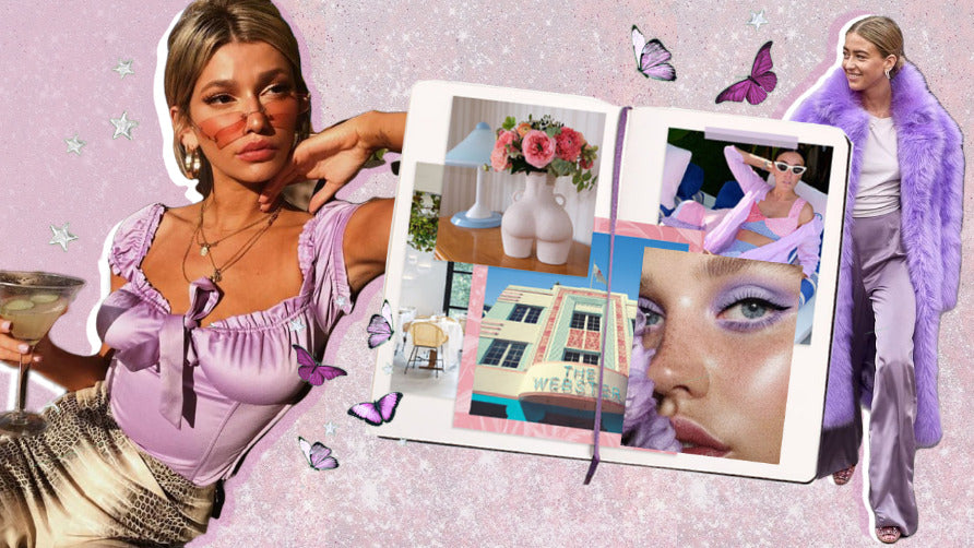 How to Wear Lilac And Lavender Outfits
