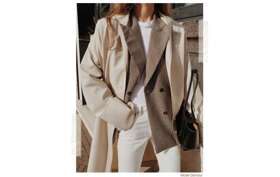 Blazer Overcoat Winter Coat