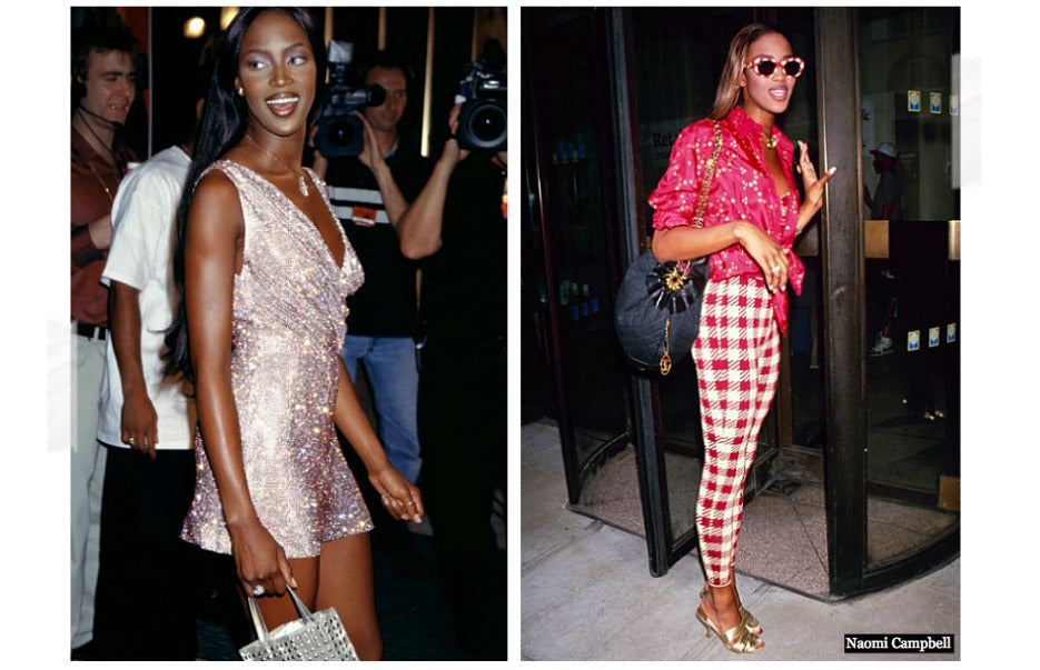 Naomi Campbell 90's Style Icon