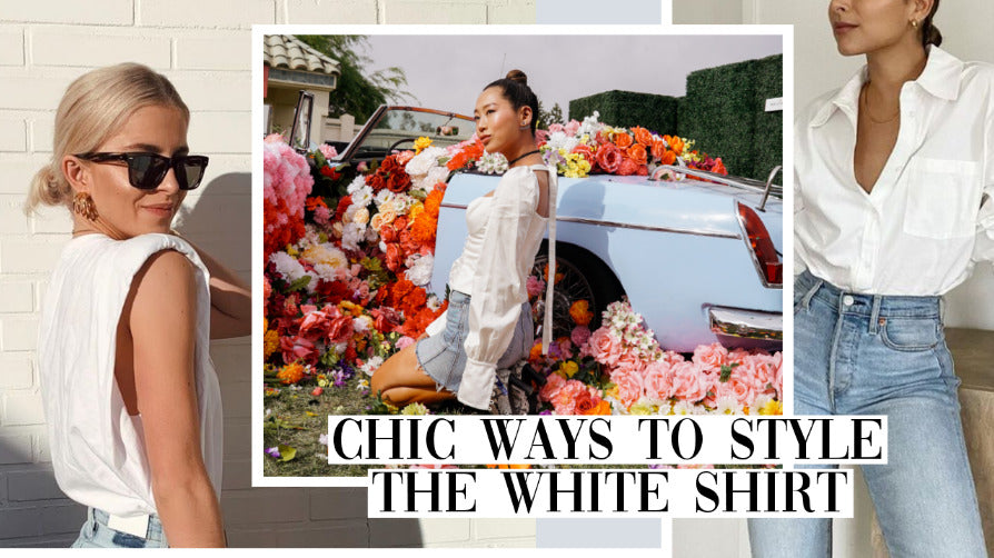 Chic Ways To Style The White Shirt Muscle Tee