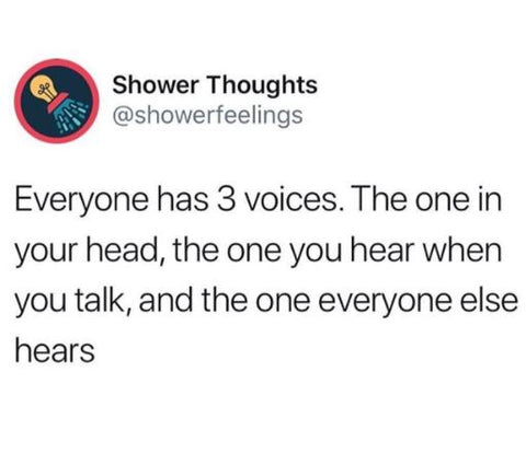 Showerthoughts meme @Girlwith3jobs, facts, memes, real