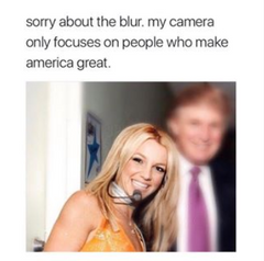 britney spears donal trump meme instagram @girlwith3jobs