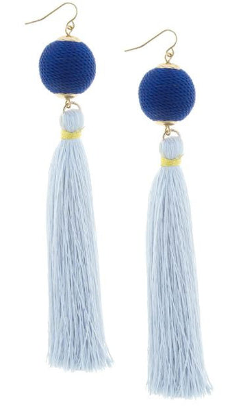 Blu Fascination Earrings