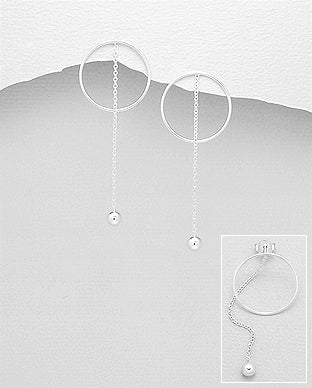 Circle Vacation Drop Earring