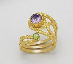 Golden Captivation Ring.