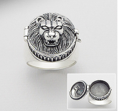 Lion Powder Ring