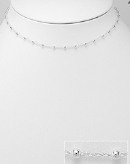 Cute little choker, Dainty Silver Choker, sterling silver necklace, Simple necklace, simple short necklace,  cocktail jewelry, event jewelry, work jewelry, necklace for dress, button down shirt jewelry, office jewelry, blogger style, influencer fashion, influencer style, influencer jewelry, popular jewelry, popular necklace*,  gifts for her, sterling silver necklace, fashionable necklace,  jewelry, simple jewelry, Choker*, Sterling Silver Choker, by KesleyBoutique.com, Girlwith3jobs.com