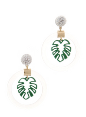 Palm Vacation Earrings