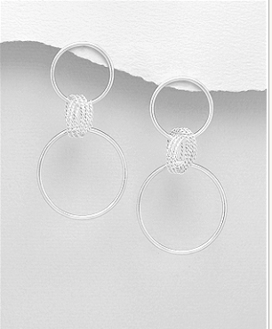 Summer Circle Earrings
