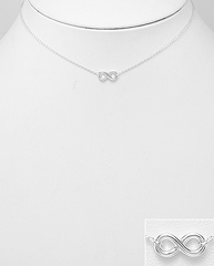 infinity choker necklace by Kesley, KesleyBoutique.com, Girlwith3jobs, Girlwith3jobs.com, infinity necklace, infinity jewelry, gifts for her, jewelry gifts, sorority gifts, travel jewelry, sterling silver infinity necklace, sterling silver necklace, trendy jewelry, influencer jewelry, blogger jewelry, trendy jewelry, trends, cute necklace, dainty infinity necklace