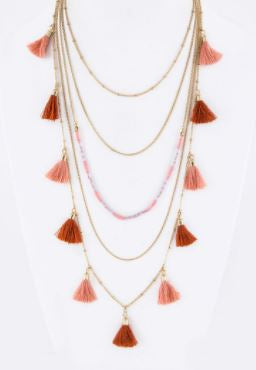 Tassles Me Necklace