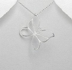 butterfly pendant by Kesley
