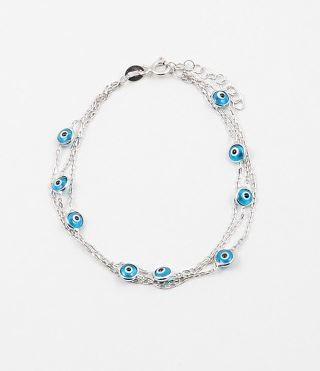 Eyes and ice bracelet