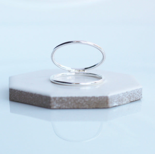 Parallel Reflected Double Ring