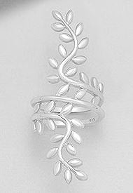 Leaf Therapy Ring.