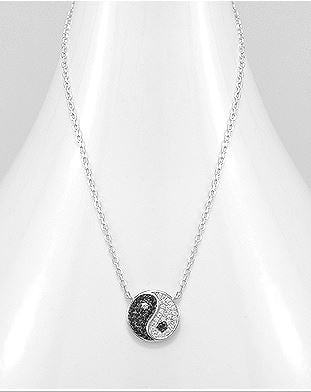 Ying Yang Necklace by Kesley Girlwith3jobs memes