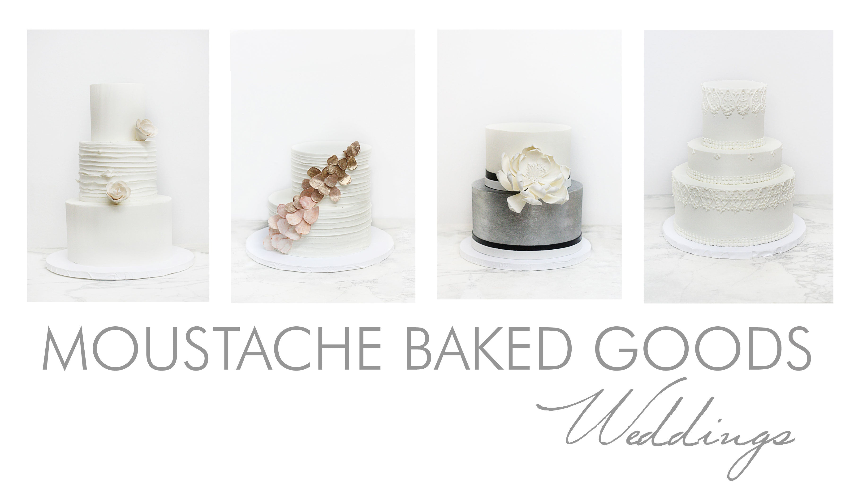 Weddings and Events / Moustache Baked Goods