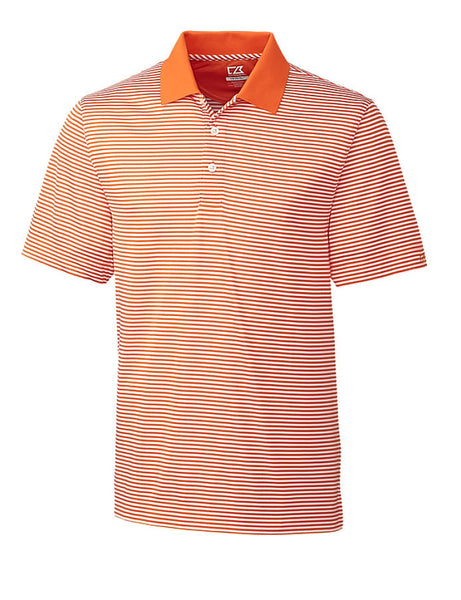 Men's Cutter & Buck Dry-Tec Trevor Stripe Polo