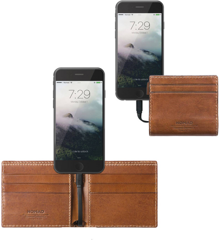 Nomad Power Slim Wallet
