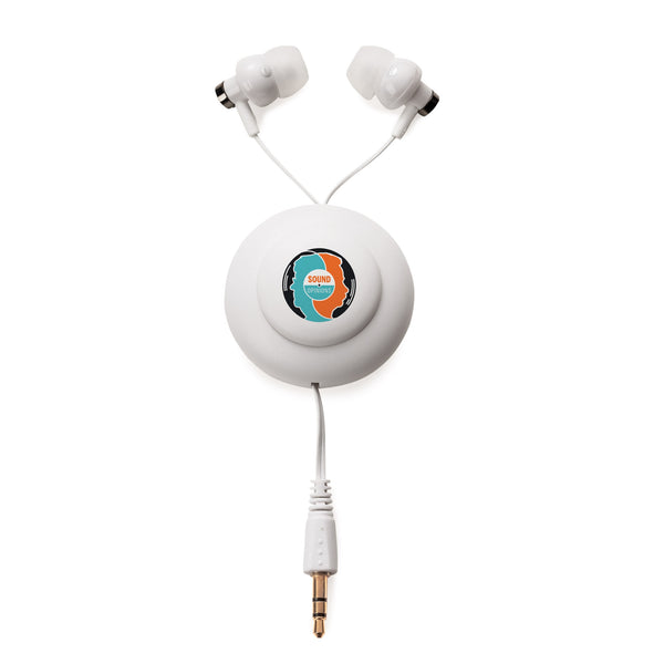Retractable Magnetic Earbuds