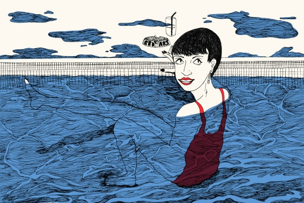 Cynthia Merhej, 'You can buy cigarette at swimming pool'