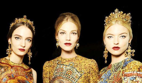 Dolce & Gabbana FW13/14 Mosaic Collection